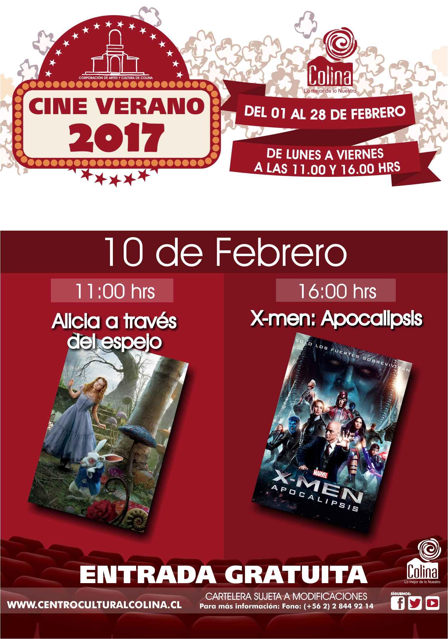 cine de verano 2017-10 de febrero