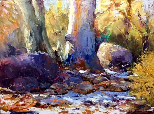 """""""Pinturas In situ"""" una muestra en donde la naturaleza se convierte en taller"""