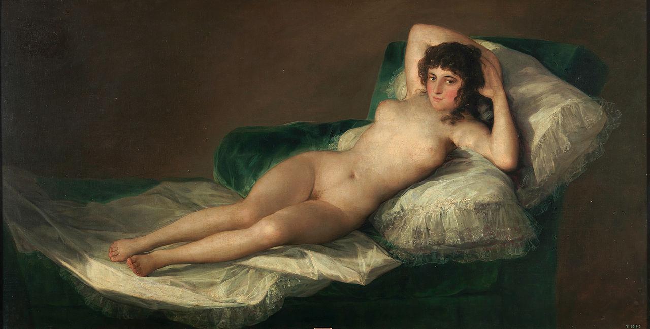 """""""La Maja"""" de Goya: Un homenaje a sus 220 años de misterio"""