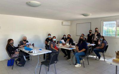 Programa Extramuro lleva el taller de Mosaico a El Colorado