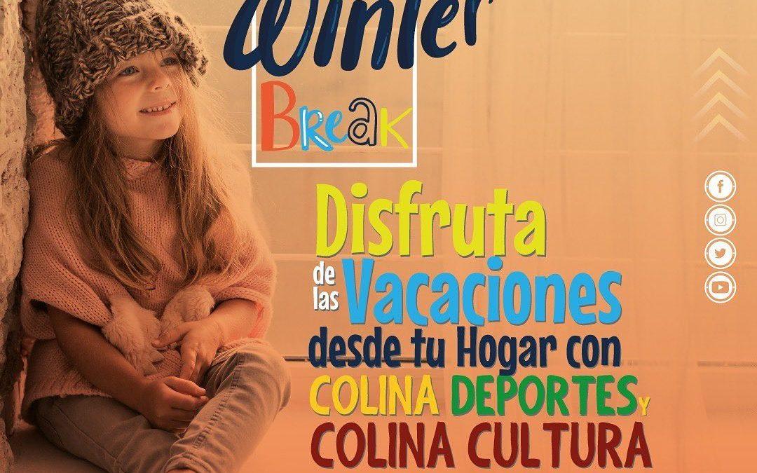"""El """"Winter Break"""" brinda diversión a los niños de Colina de forma online"""