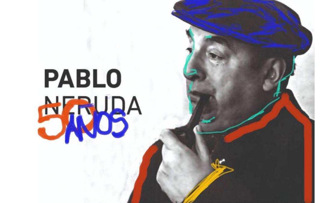 Destacados pintores chilenos rinden tributo a Pablo Neruda