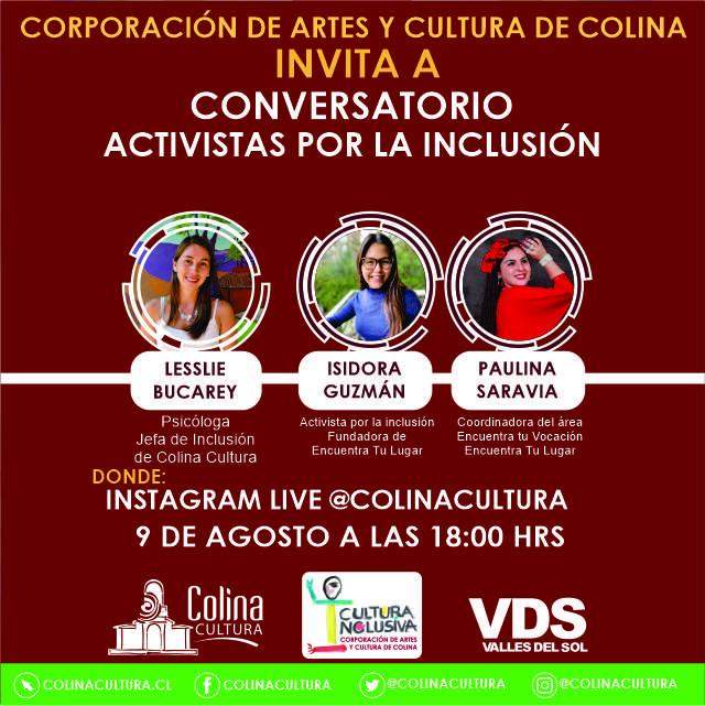Conversatorio: Activistas por la inclusión