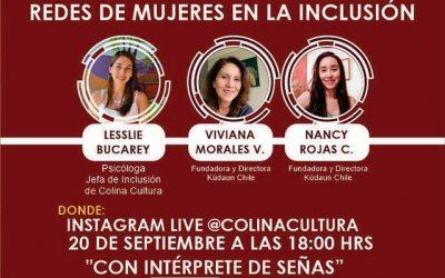 Conversatorio:  Redes de Mujeres en la Inclusión