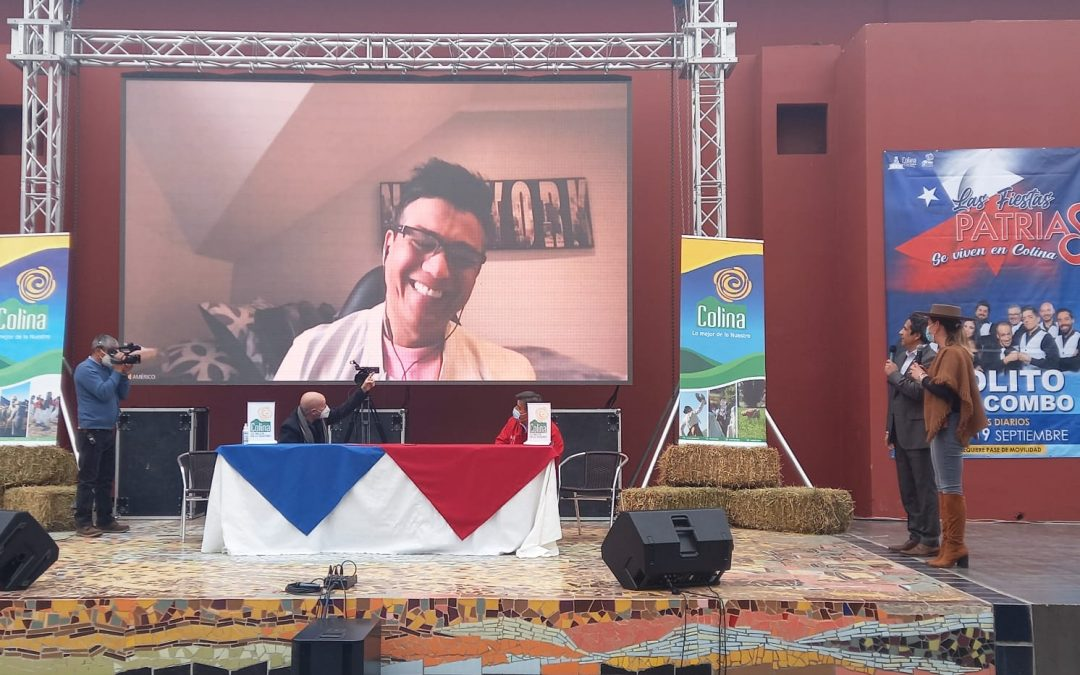 Las Fiestas Patrias se celebrarán en Colina con espectáculos móviles
